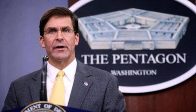 وزیر دفاع آمریکا: نیروی نظامی به عربستان اعزام می کنیم