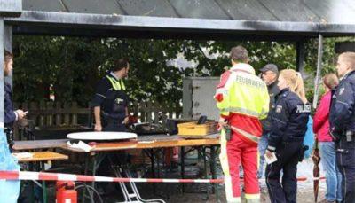 28 24 انفجار مرگبار, جشنواره روستاییِ آلمان, پلیس آلمان