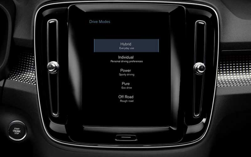 قیمت و مشخصات فنی ولوو XC40 پلاگین هیبرید اعلام شد