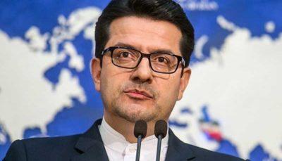 سخنگوی وزارت خارجه: مراحل رفع توقیف کشتی انگلیسی نهایی شد