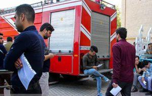 آزمون عملی استخدام نیرو در مشاغل آتش نشانی مهرماه برگزار میشود