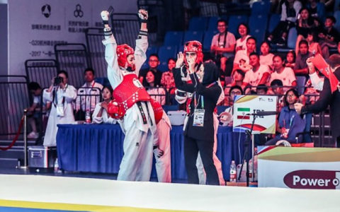 تیم ملی تکواندو به فینال مسابقات هنرهای رزمی جهان صعود کرد