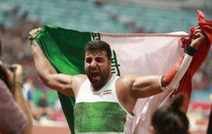 حدادی: در قهرمانی جهان هدفم تکرار بهترین رکورد فصلم است