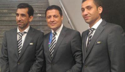 قضاوت تیم داوری ایران در نیمه نهایی لیگ قهرمانان آسیا