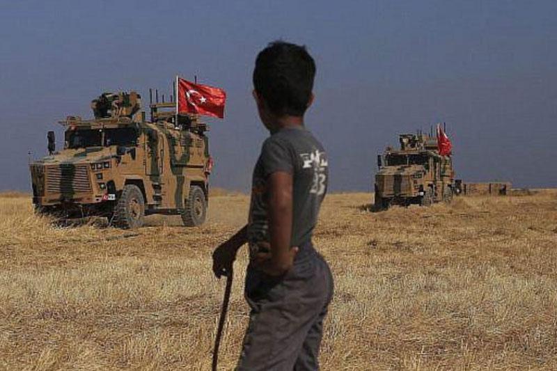 حمله نظامی ترکیه به سوریه