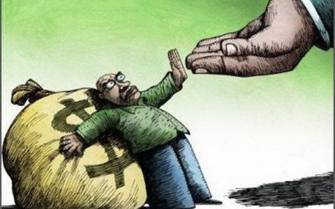 مالیات گرفتنی است، دادنی نیست