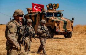 نیروهای نظامی ترکیه در خاک سوریه