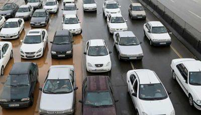 12 84 ترافیک, آزادراه کرج - قزوین