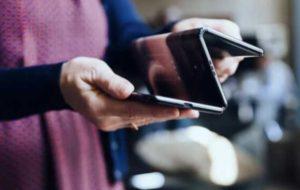 موبایل تاشو با ۲ لولا و ۳ نمایشگر رونمایی شد