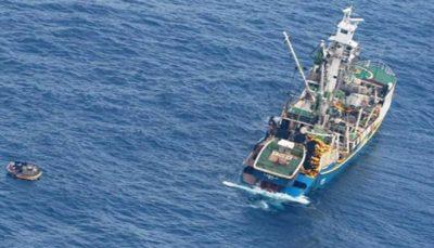 17 16 واژگونیِ قایق مهاجران, گارد ساحلی ایتالیا