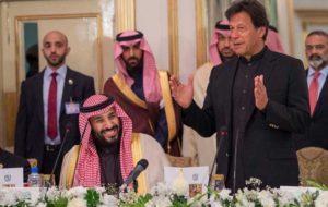 عمران خان در ایران با پیام عربستان