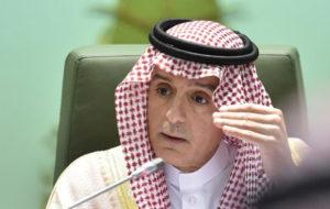 واکنش عادل الجبیر به حمله به نفتکش ایرانی در نزدیکی جده عربستان