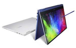 رونمایی از لپ تاپ های جدید گلکسی بوک با اولین نمایشگرهای QLED