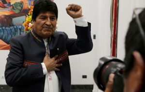 مورالس با کمتر از ۵۰ درصد آرا بار دیگر رئیسجمهوری بولیوی شد