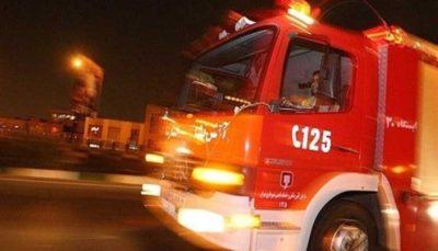 33 55 آتشنشانی تهران, آتشسوزی