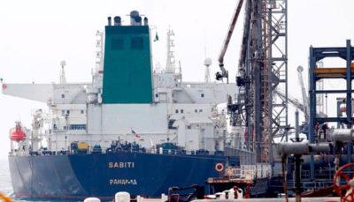 سازمان بنادر: نفتکش سابیتی به تنگه باب المندب رسیده