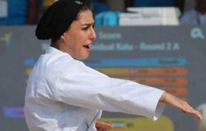 فاطمه صادقی فینالیست بازیهای جهانی ساحلی شد