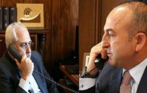 اوغلو:اقدام مادر سوریه موقتی است/ظریف:توافق «آدانا»بهترین راه است