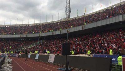 برای حفظ حرمت زنان ایرانی در استادیوم آزادی تلاش کنیم