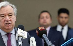 استقبال گوترش از توافق آتشبس در شمال سوریه