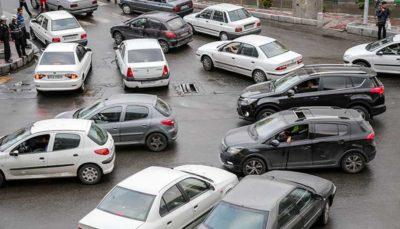 آخرین وضعیت ترافیکی معابر شهری و بزرگراهی تهران در شانزدهم آبان
