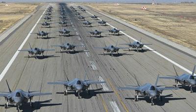 آمریکا یک اسکادران «اف ۳۵» به امارات اعزام کرد