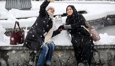 احتمال بارش برف در تهران از شنبه