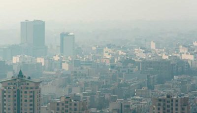 اخطاریه هواشناسی درباره آلودگی هوای تهران و سه استان دیگر