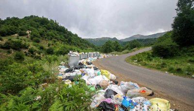 استانهای شمالی درگیر با بحران زباله