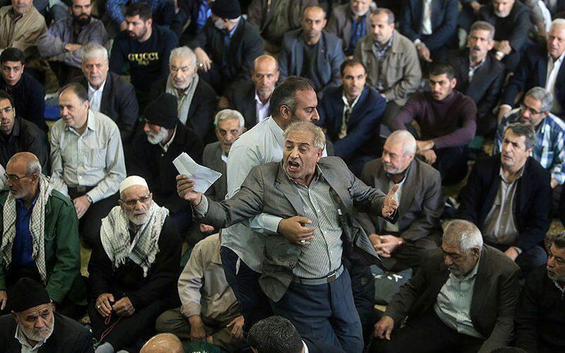 اعتراض-یک-شهروند-در-نماز-جمعه-تهران