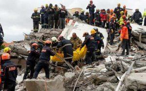افزایش تلفات زلزله در آلبانی به ۴۶ تن