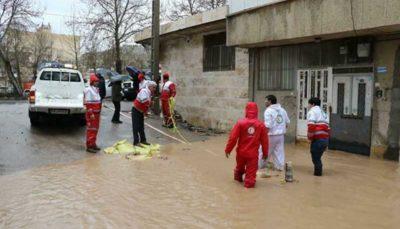 امداد رسانی به ۸۳۸ نفر در استانهای گلستان و مازندران