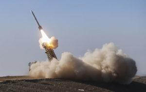 اهداف در ارتفاع بلند توسط سامانه موشکی «تلاش» منهدم شد