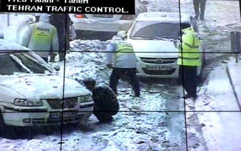 بارش-سنگین-برف-در-تهران