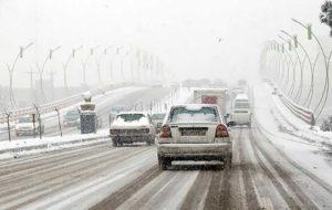 بارش نیممتری برف در ملاده مهدیشهر
