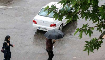 بارندگی در ۹ استان از فردا
