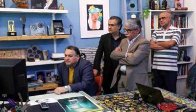 بازدید مدیرعامل بنیاد سینمایی فارابی از انجمن سینمای جوانان بوشهر