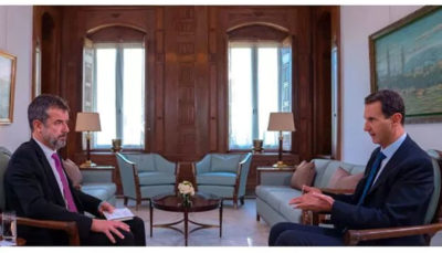 بشار اسد: قتل البغدادی شوخی ترامپ بود