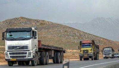 تا اطلاع ثانوی؛ تردد و ورود کامیون به تهران ممنوع شد