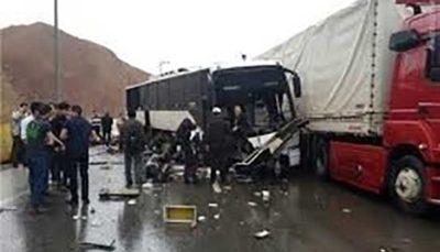 تصادف اتوبوس پاکستانیها 4 کشته و 46 مصدوم برجای گذاشت