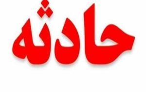تصادف خودروی هلال احمر در میدان تجریش