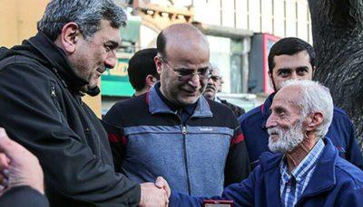تقدیر شهردار تهران از راننده تاکسی امانتداری که 70هزار یورو را به گردشگران برگرداند