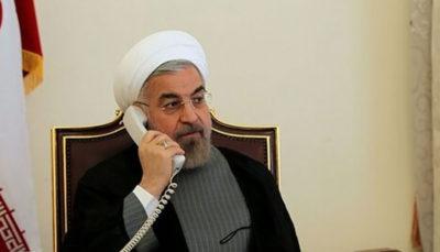 تماس تلفنی رئیس جمهور با استاندار آذربایجان شرقی
