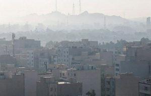 تهران از ابتدای سال چند روز هوای آلوده داشته است