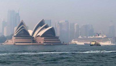 ثبت بالاترین سطح آلودگی هوا در استرالیا