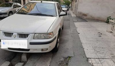 جریمه ۴۰ هزار تومانی برای توقف وسایل نقلیه در پیاده رو