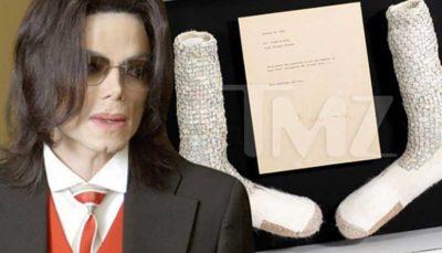 حراج جوراب چند میلیون دلاری مایکل جکسون