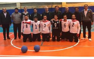 حضور حمید استیلی در اردوی تیم ملی گلبال