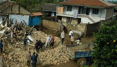 خدمات تیمهای «محب» بهزیستی در سیل استان مازندران