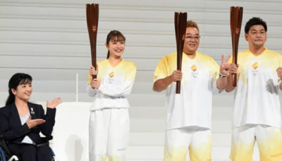 روشن شدن مشعل پارالمپیک توکیو در 700 مکان